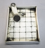 Gridded Tray with Spoon