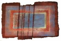 'Red', 41.5ins x 29.5,105cm x 75, £925