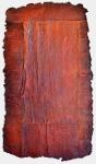 'SOL', 80 x 44cms. Cellulos'SOL', 80 x 44cms. Cellulose fibre, acrylic paint, wax, £450e fibre, acrylic paint, wax.