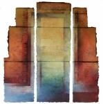 'Long Building', 131cm x 129, £1,950