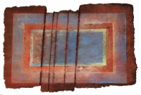 'Red', 41.5ins x 29.5,105cm x 75