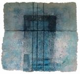 'Grey Blue', 43.5ins x 44.5, 110cm x 113