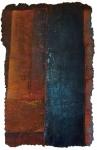 'Sol (Blue)',40ins x 25, 101cm x 64